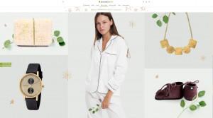 Screenshot Avocadostore Online Shop Faire Mode Nachhaltigkeit