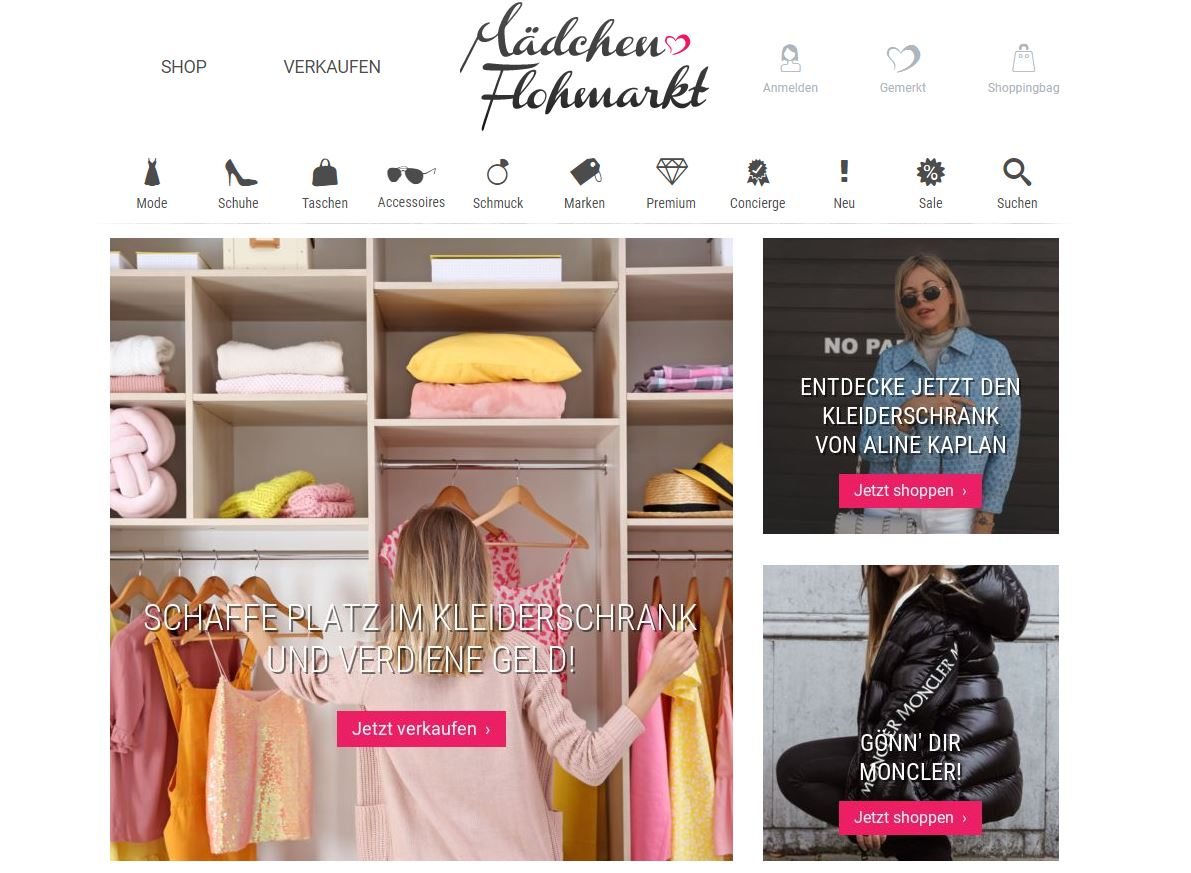 secondhand online shops fair fashion nachhaltig